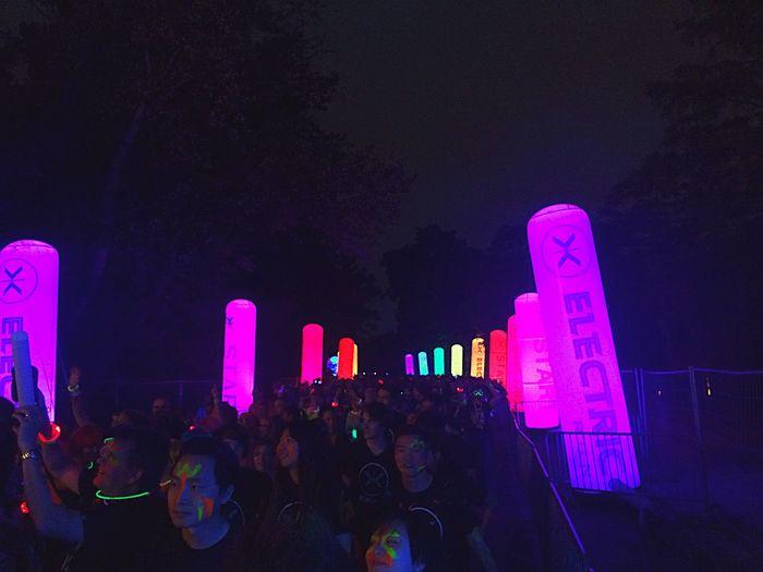 Colors Light Party Electricrun Party Time!
