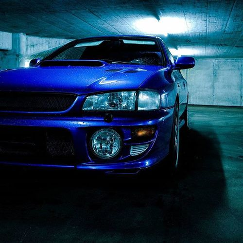 Impreza Rs Turbo AWD  2000 Exhaust Richphotography Blue Antilag