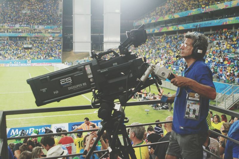 Behind the scenes. What you wont see on your TV screen. We Are Onefootball Behind The Scenes Proatwork Brazil2014