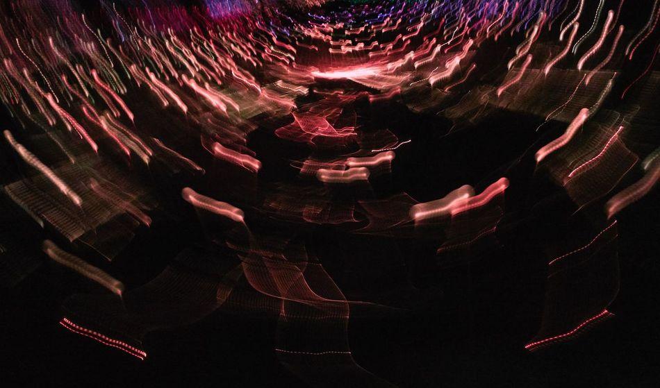 @Field of Light installation Uluru, Kata Tjuta National Park Motion Blur Field Of Lights Field Of Light Uluru Uluru-Kata Tjuta National Park Sonyrx100v Uluru Kata Tjuta Red Nature Night People Illuminated Sky Outdoors