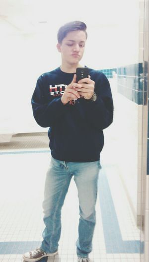 Hello World Selfie Mirrorselfie Hair Guy Swag Teen Instagood Like Follow