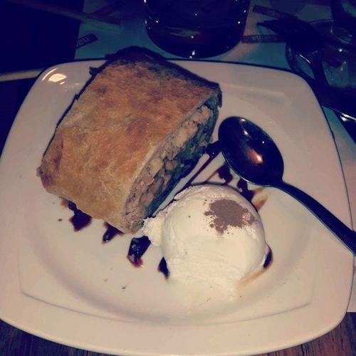 Десертик)яблочныйштрудель мороженко Вкусняшка