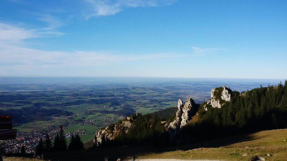 Hello World Relaxing Landscape Nature Nature_collection Auntumn Sky Bavaria Bayern Enjoying The View Aschau Chiemgau Germany Kampenwand Bavarian Alps Amazing View View Sky And Clouds Sky_collection Skyporn
