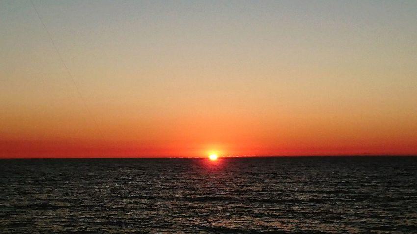 Sehnsucht... Baltic Sea Summertime Sundown Last Glimpse Chilling