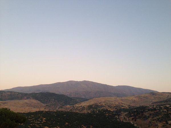 No Filter Lebanon Mount Hermon WEST BEKAA Mountains Border