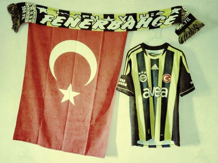 What I have in my room. Fenerbahçe aşktır!