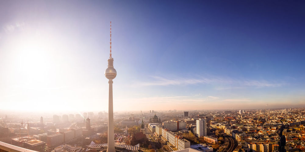 Architecture Berlin Building Building Exterior City Cityscape Fernsehturm Fernsehturm Berlin  Germany Hauptstadt Skyline TV Tower Tv Tower Berlin View