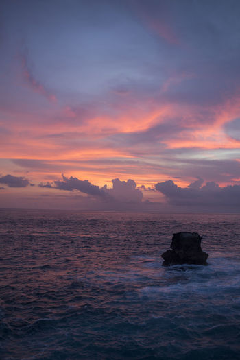 Beauty In Nature Cloud - Sky Day Horizontal Idyllic Nature No People Outdoors Scenics Sea Sky Sunset Tranquil Scene Travel Travel Destinations Water