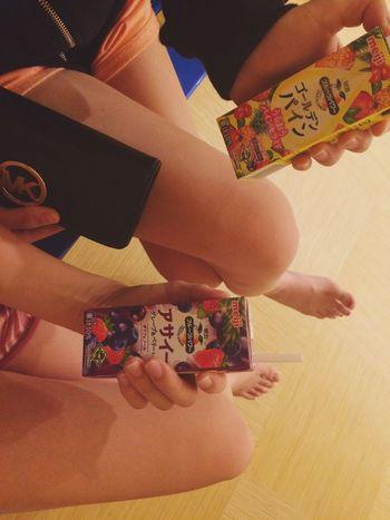 Friends Onsen Enjoying Life