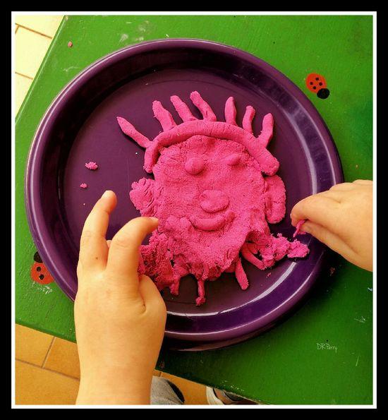 """Grandaughter's View of What I Look Like"" Roma Rome Italy Italia Photobydperry Kidart Art Kid Drawing Playdough Kid Hand"