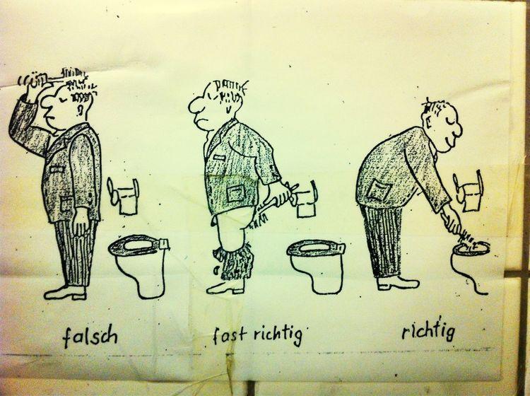 Klo Toilet Toilette Lustig