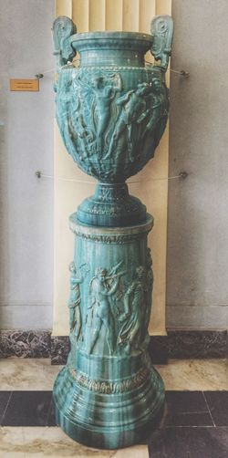 Art Sculpture Statue Art And Craft Human Representation Creativity Water Carving - Craft Product Fountain Day Flowing Flowing Water Monument History No People Vase Artistic