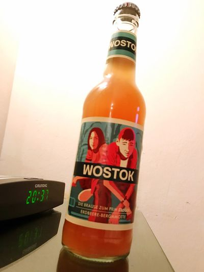 20:37 Wostock Bottle Text Communication Food And Drink No People Fire Extinguisher Close-up Indoors  Day