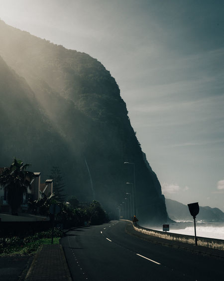 coastal settings Copy Space EyeEm Nature Lover Landscape_Collection Adventure Fog Haze Light And Shadow Mountain Nature No People Ocean Outdoors Road Sea Sea And Sky Seascape