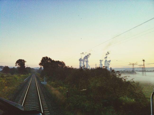 Public Transportation Sunrise Good_morning Wolkenfabrik