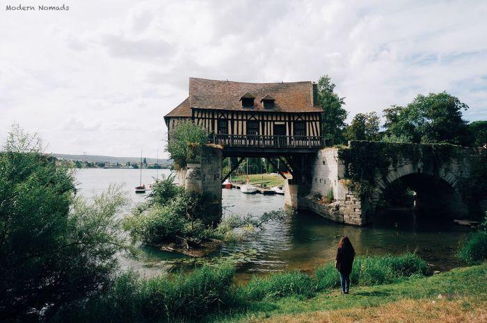 Le Vieux Moulin à Vernon France Summertime Visit France VSCO