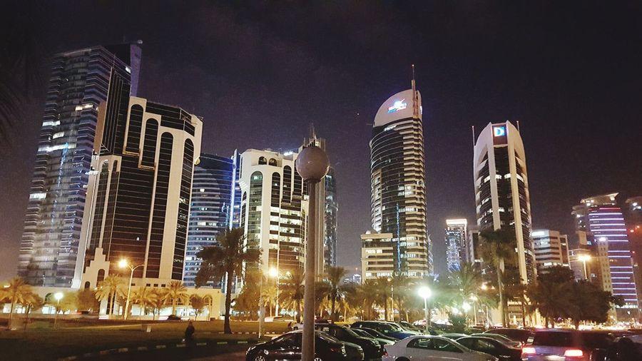 Doha @ nite... Excercising Jogging Walking Around Check This Out Taking Photos