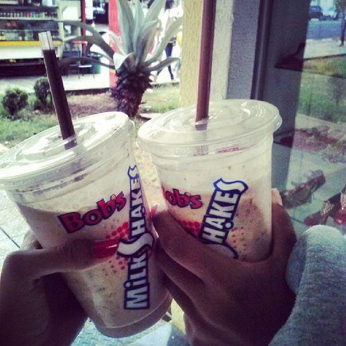 Tarde  Cágata Milkshake Shopping :3 :p
