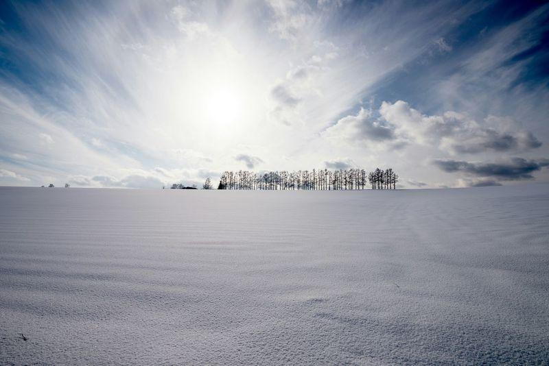 Japan Hokkaido Biei