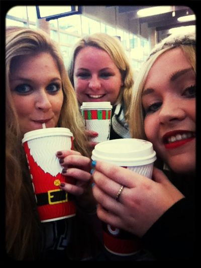 Festive coffee boom!