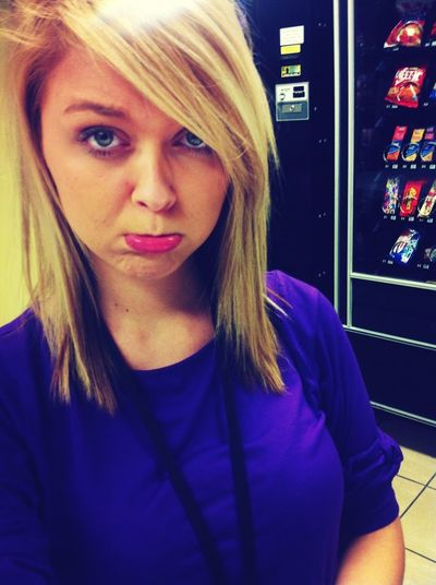 Everyone's making me sad that today's my last day at stein mart );