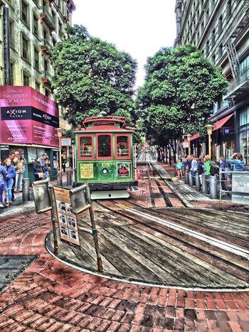 """""""Tourist Magnet"""" Cable Car San Francisco Urban Landscape Urban OpenEdit Cityscapes Tourists"""