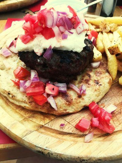 Food And Drink Greek Islands Visitcrete Garnish Burgers
