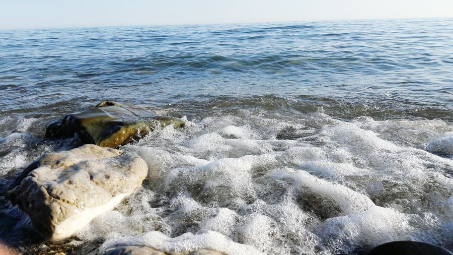 Sea Nature Horizon Over Water Beach No People Water Outdoors Beauty In Nature Day Sky UnderSea April 2017 Spring 2017 Blacksea Sea