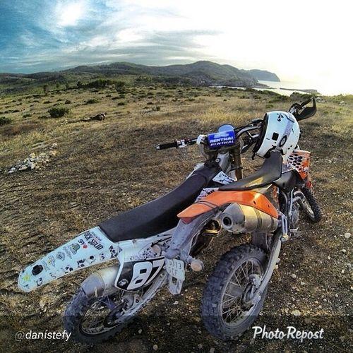Las niñas Eivissa Portinax Atope MyLifeMyRules PicOfTheDay gopro Gas Yamaha KTM 4T