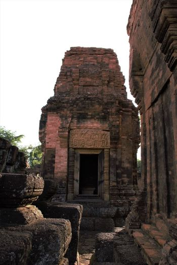 Muang Tam Sanctuary-Buriram,Thailand Ancient Ancient Civilization Archaeology Architecture Building Exterior Built Structure Day History No People Old Ruin Outdoors Place Of Worship Religion Sky Spirituality Tourism Travel Travel Destinations
