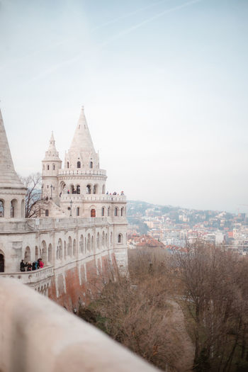 Fisherman's Bastion Hungary Budapest Budapest, Hungary Architecture Architecture_collection City Cityscape Place Of Worship History Sky Architecture Building Exterior Travel Palace