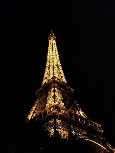 Illuminated Travel Destinations Architecture Effiel Tower Tour Eiffel Tower Sky October 2017 Downtown District Autumn 2017 Paris, France  Paris France Travel Tourism Vacations Architecture EyeEmNewHere