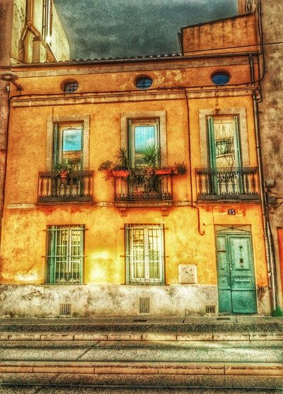 SouthFrance Yellow House  Hdr Edit Miles Away Architecture_collection Adventure Around The World Colors
