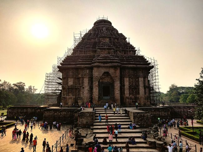 A Marvel Of 1250 AD Place Of Worship Sky Architecture Building Exterior Built Structure Civilization Old Ruin The Past History Historic Historic Building