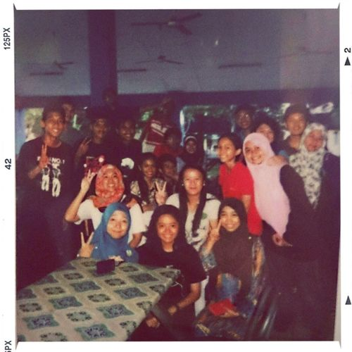Even all of us so different, we are always together. Classmates Itsme KMLians