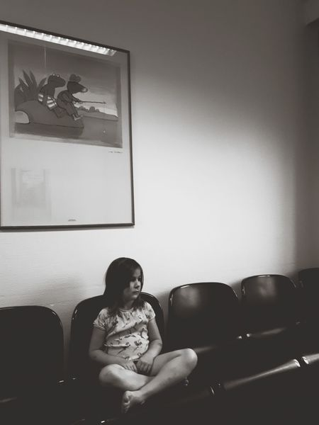 waiting Child Waiting Waitingroom Waitingroomblues Pediatrician Childhood Indoors  Sofa People One Person Chair Living Room