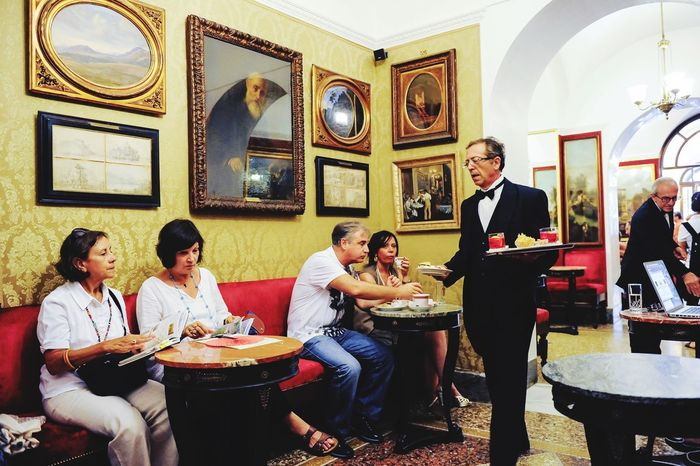 Cafe Greco Roma Italy Historical Building Gastronomy Timeout