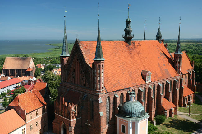 Architecture Building Exterior Catedral Church Frombork Frombork Poland Polen