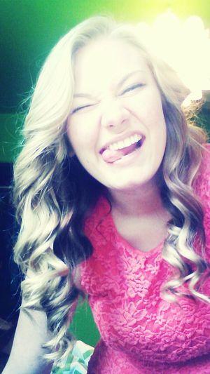 Funny Girl Cute Happy