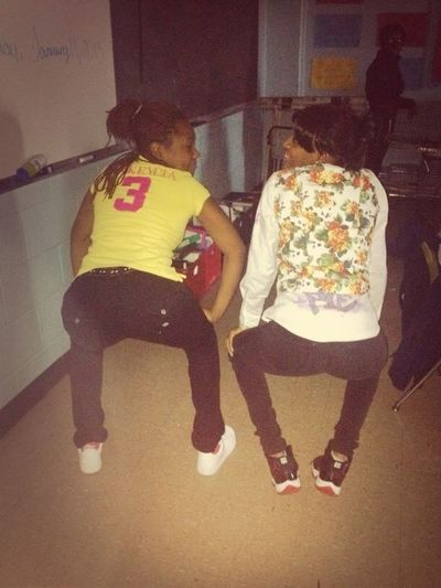 Me And Shanique Ahh Shot!