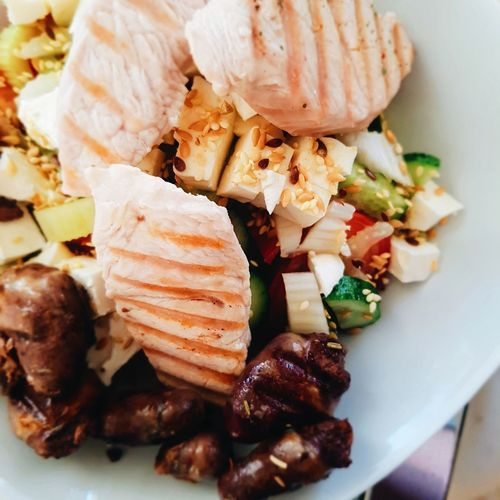 EyeEm Selects Salad Lunch Food Chicken Meat