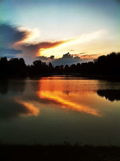 Whater Reflection Sunset