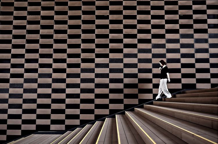 Architectural Design Pattern Geometric Shape Stairs Wall Shootermag Streetphotography People Photography Snapshot Portrait Of A Friend EyeEm Gallery From My Point Of View EyeEm Best Shots EyeEmBestPics Eye4photography