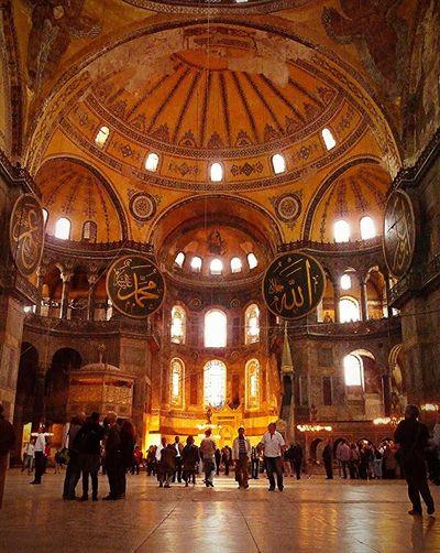 Ayasofya cami, İstanbul Inside Hagia Sofia Ayasofya (Hagia Sophia) Ayasofyacamii Istanbul Turkey Orange By Motorola Mosque Turkey Mosque Travel Photography