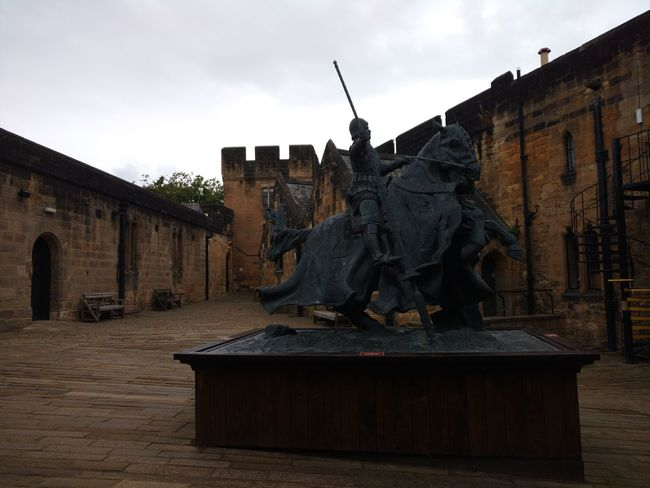 Built Structure Architecture Building Exterior Statue Sculpture Human Representation Art And Craft Art Sky History Travel Destinations Cloud - Sky Creativity Old Town Alnwick Castle Harry Potter Tranquility Ancient Outdoors Castle Medieval The Past Day Famous Place Memories