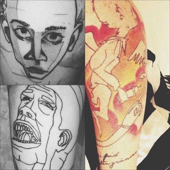 Tattoo Ink Abstract Sleeve