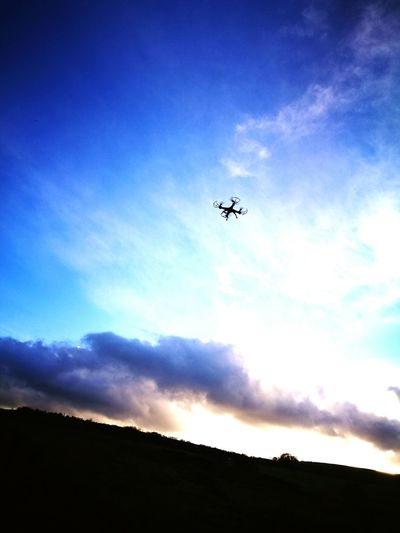 Flying Sky Outdoors Cloud - Sky Drone  No People Consett Castleside