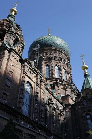 圣索菲亚大教堂 哈尔滨 黑龙江 东北 Cathedral Church
