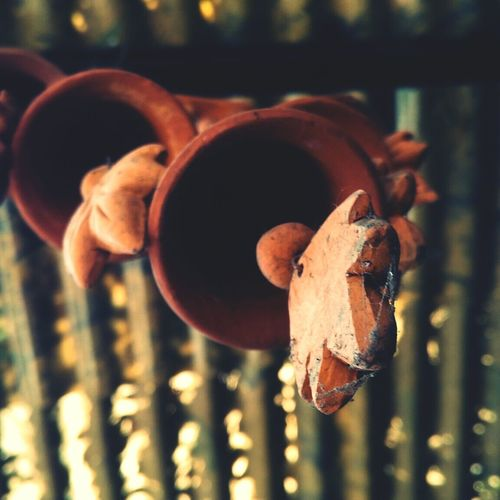 The sound of mud wind chimes... Interior Views Art Decor Art Work Still Life Photography Q Object Photography Wind Chimes Earthy Colors Simplicity At Its Finest Showcase March