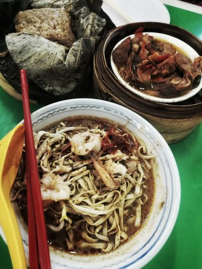 Food Ready-to-eat Serving Size Bowl Plate Meal Cooked Chinese Food Asian Food Culture Laksa Sarawak Dim Sum Time